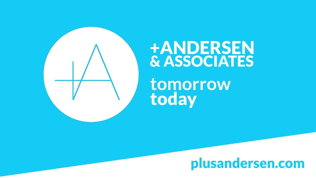 +ANDERSEN  & ASSOCIATES tomorrow today plusand...