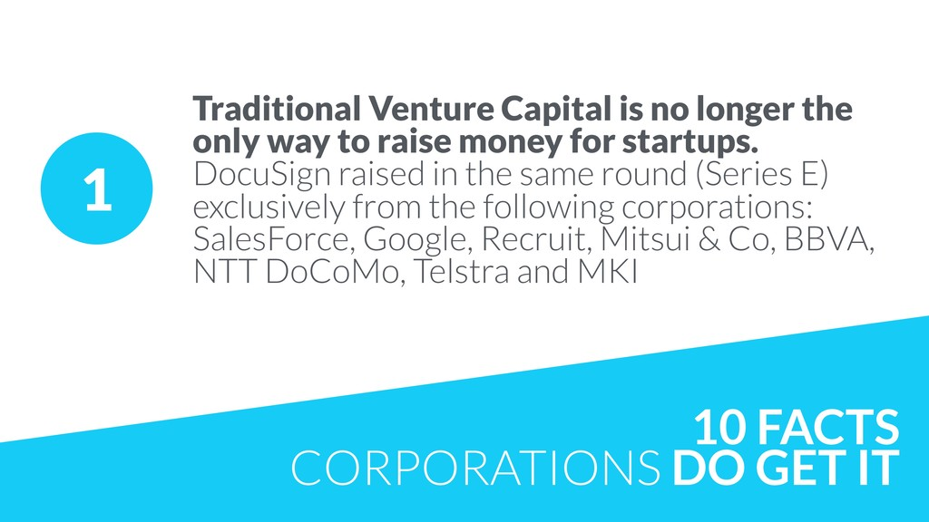 10 FACTS CORPORATIONS DO GET IT 1 Traditional V...
