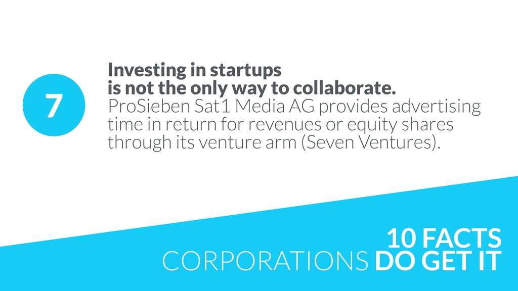 7 Investing in startups 