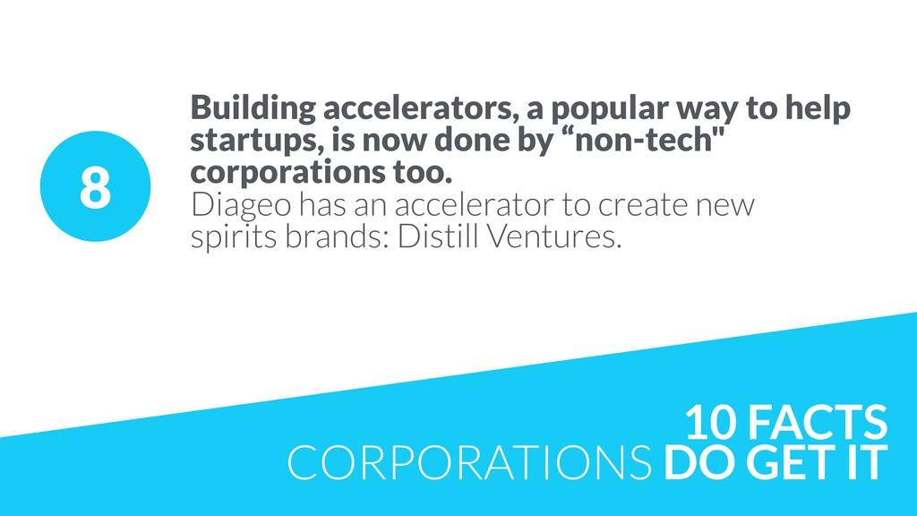 8 Building accelerators, a popular way to help ...