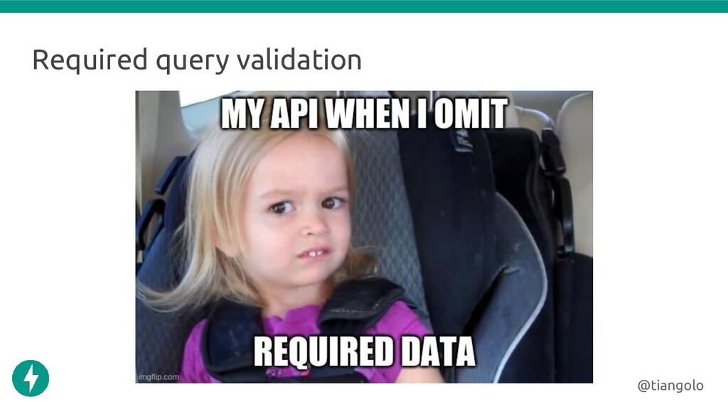 Required query validation @tiangolo