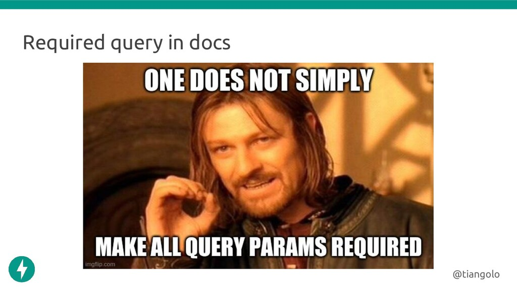 Required query in docs @tiangolo