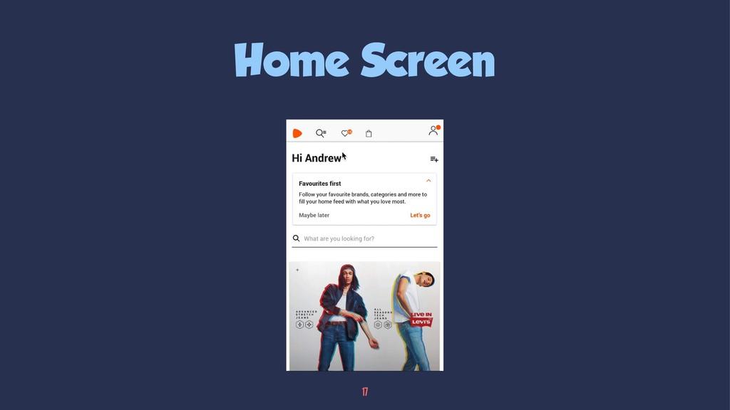 Home Screen 17