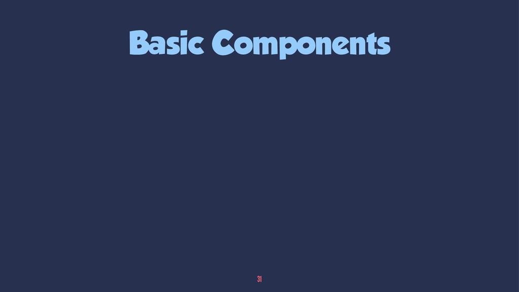 Basic Components 31
