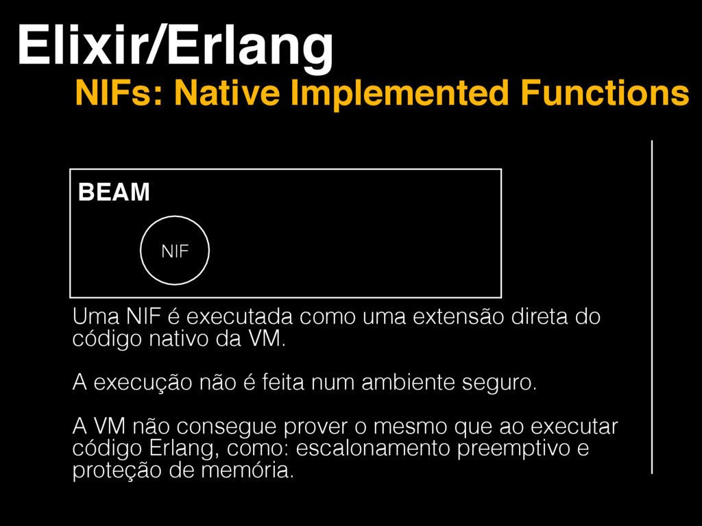 Elixir/Erlang NIFs: Native Implemented Function...