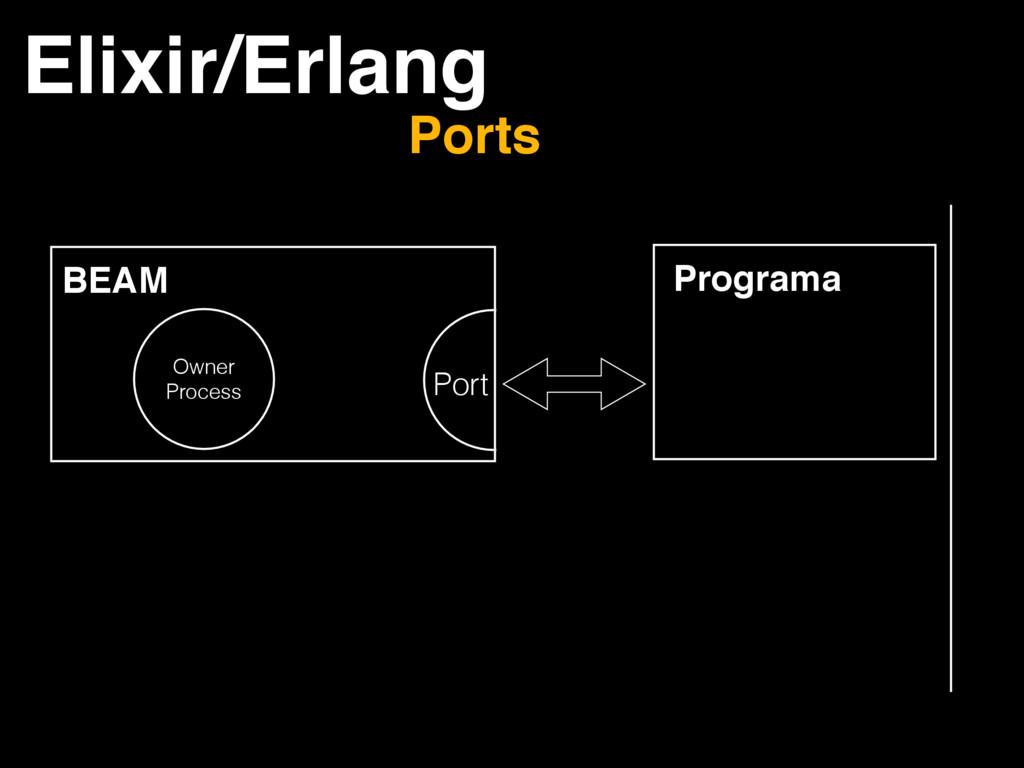 Elixir/Erlang Ports BEAM Owner Process Port Pro...
