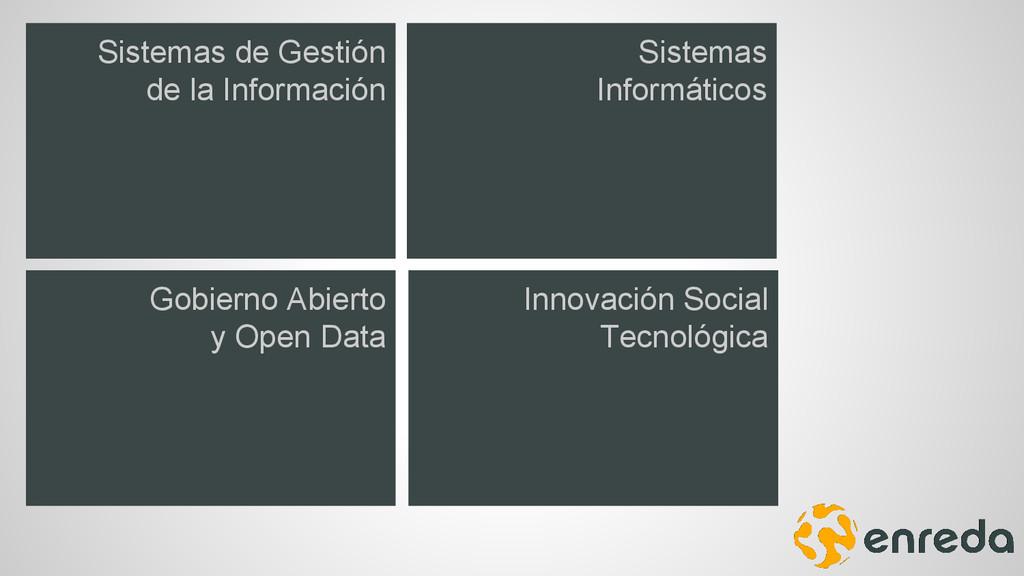 Sistemas de Gestión de la Información Sistemas ...