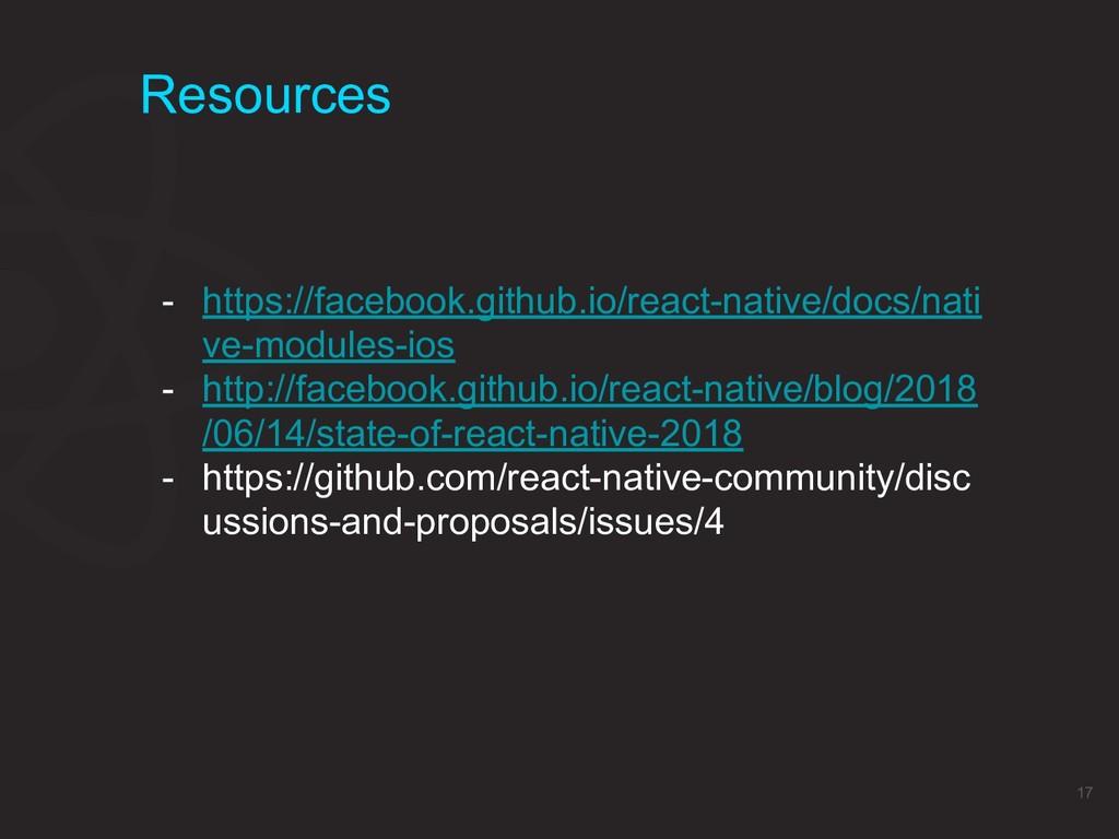 Resources 17 - https://facebook.github.io/react...