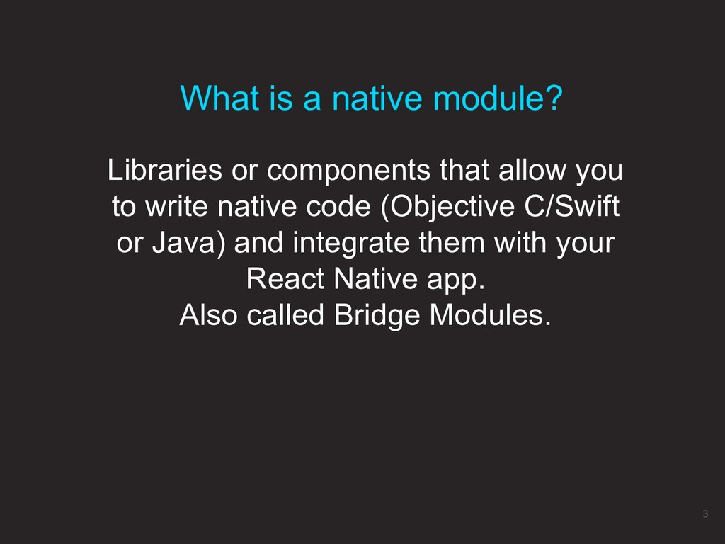 Libraries or components that allow you to write...