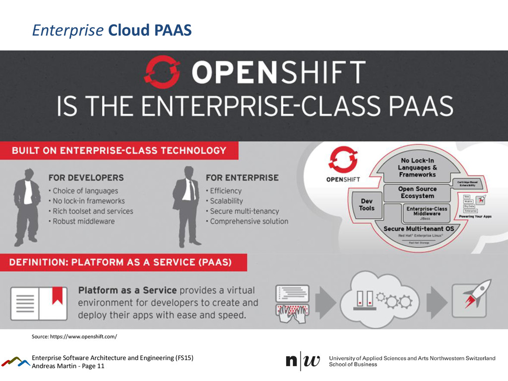Andreas Martin - Page 11 Enterprise Cloud PAAS ...