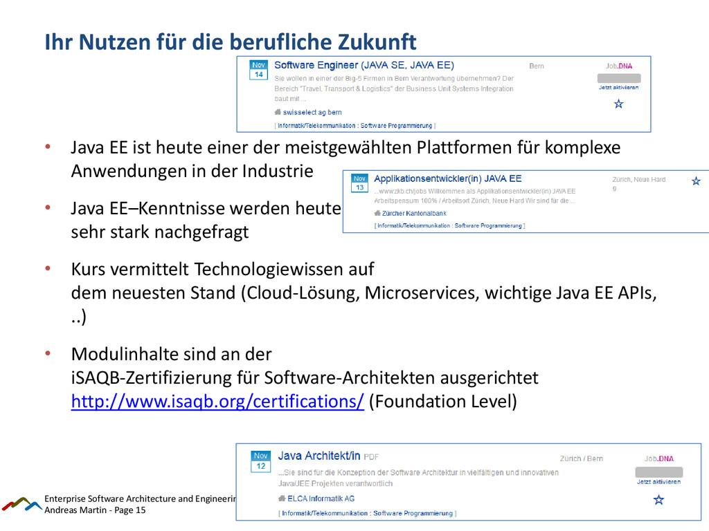 Andreas Martin - Page 15 Ihr Nutzen für die ber...
