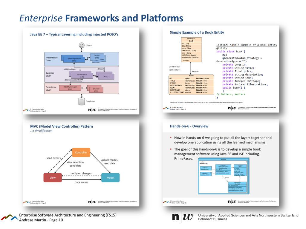 Andreas Martin - Page 10 Enterprise Frameworks ...