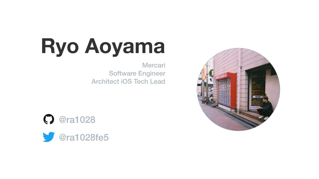 Ryo Aoyama Mercari Software Engineer Architect ...