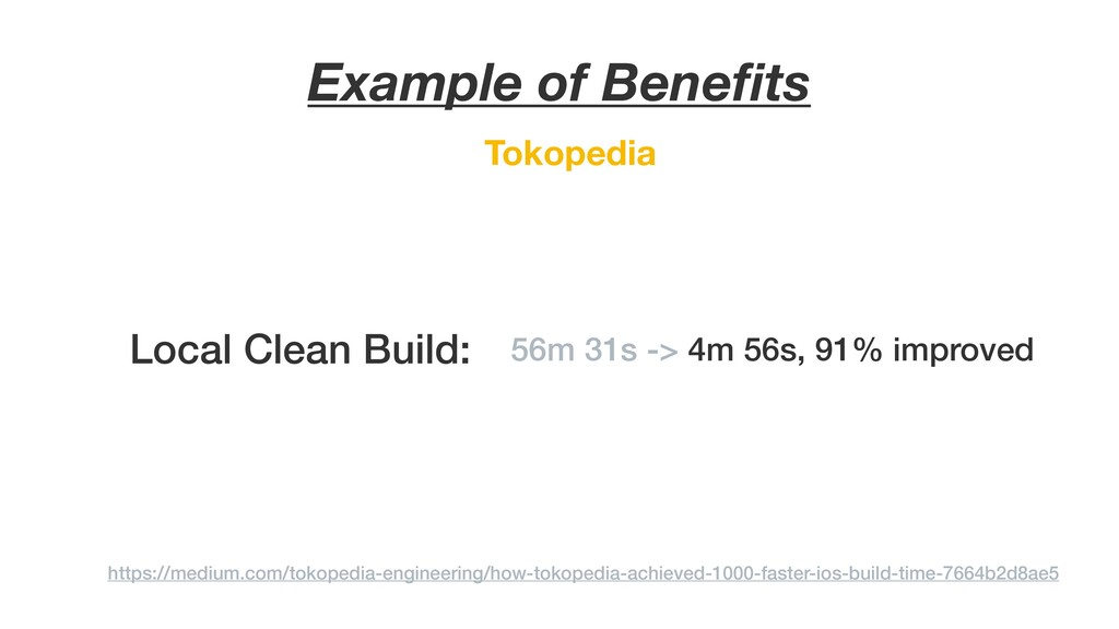 Tokopedia Example of Benefits https://medium.com...