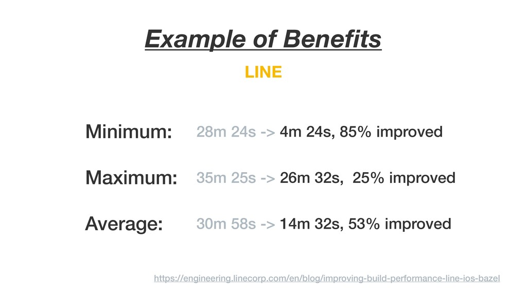 LINE Example of Benefits https://engineering.lin...