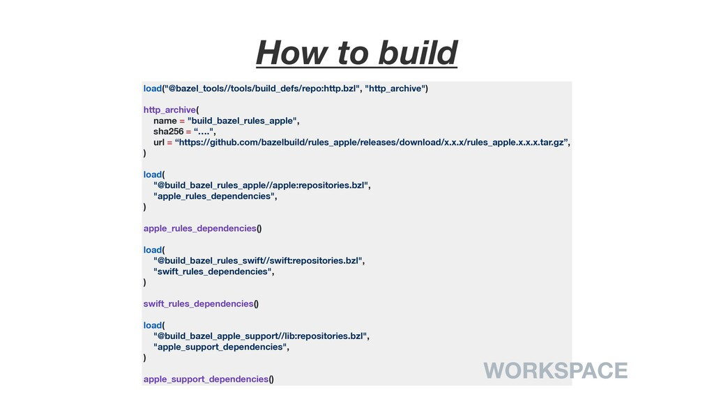 "How to build load(""@bazel_tools//tools/build_de..."