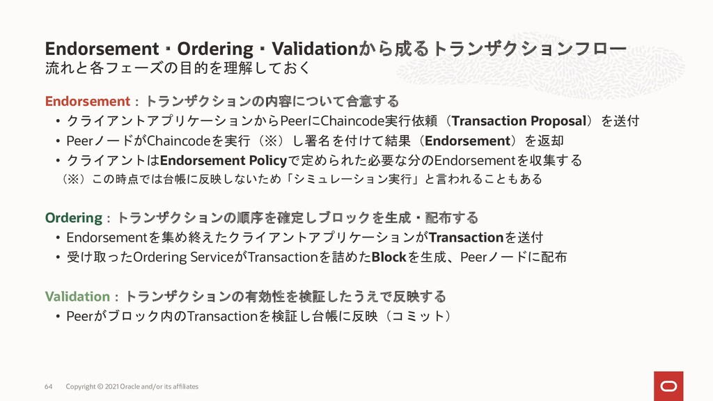 ChannelはHLFの基礎の一部、Private Dataはオプショナル Channel ネ...