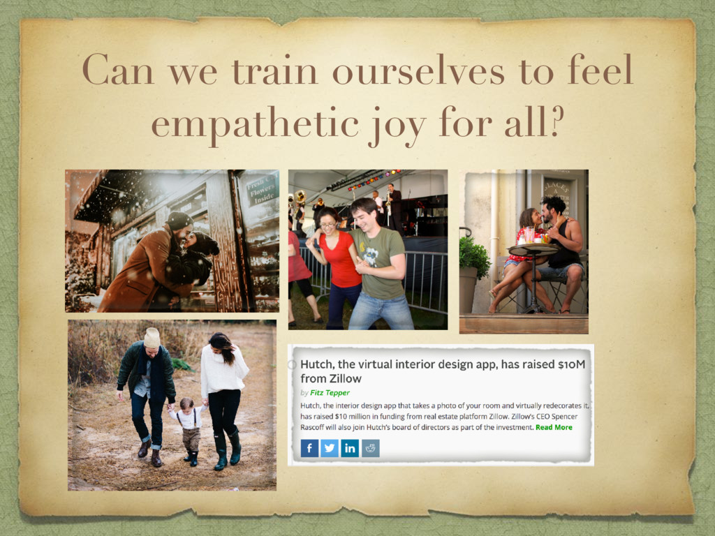 Can we train ourselves to feel empathetic joy f...