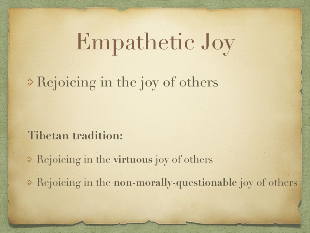 Empathetic Joy Rejoicing in the joy of others T...