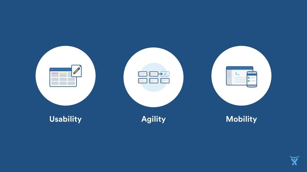 Usability Agility Mobility