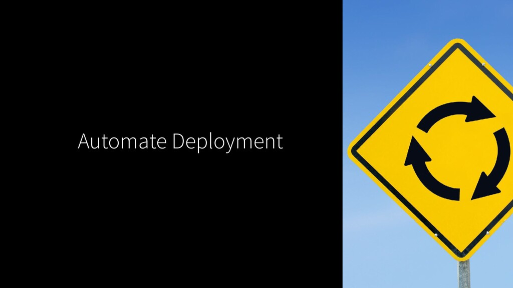 Automate Deployment