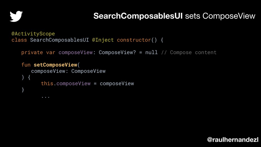 SearchComposablesUI sets ComposeView @raulherna...