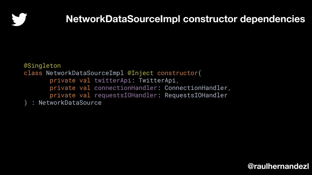@Singleton class NetworkDataSourceImpl @Inject ...