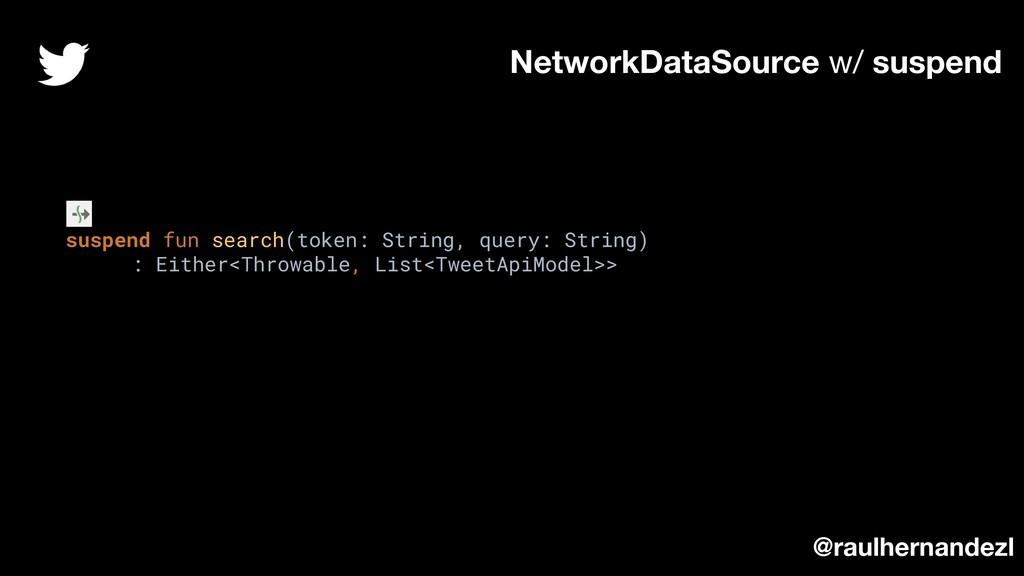 suspend fun search(token: String, query: String...