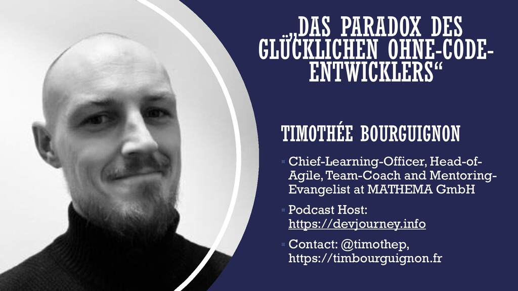TIMOTHÉE BOURGUIGNON ▪ Chief-Learning-Officer, ...