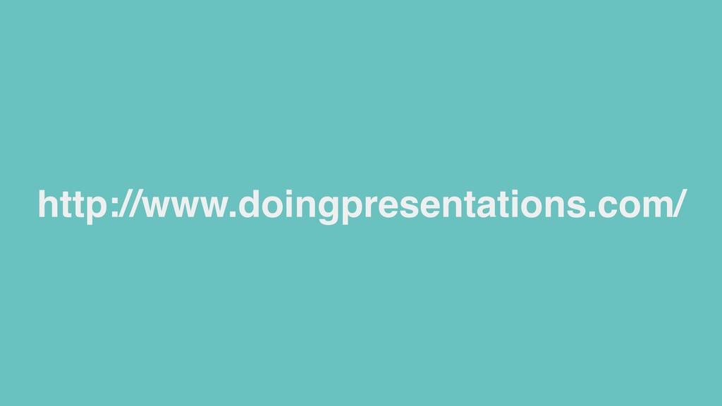 http://www.doingpresentations.com/