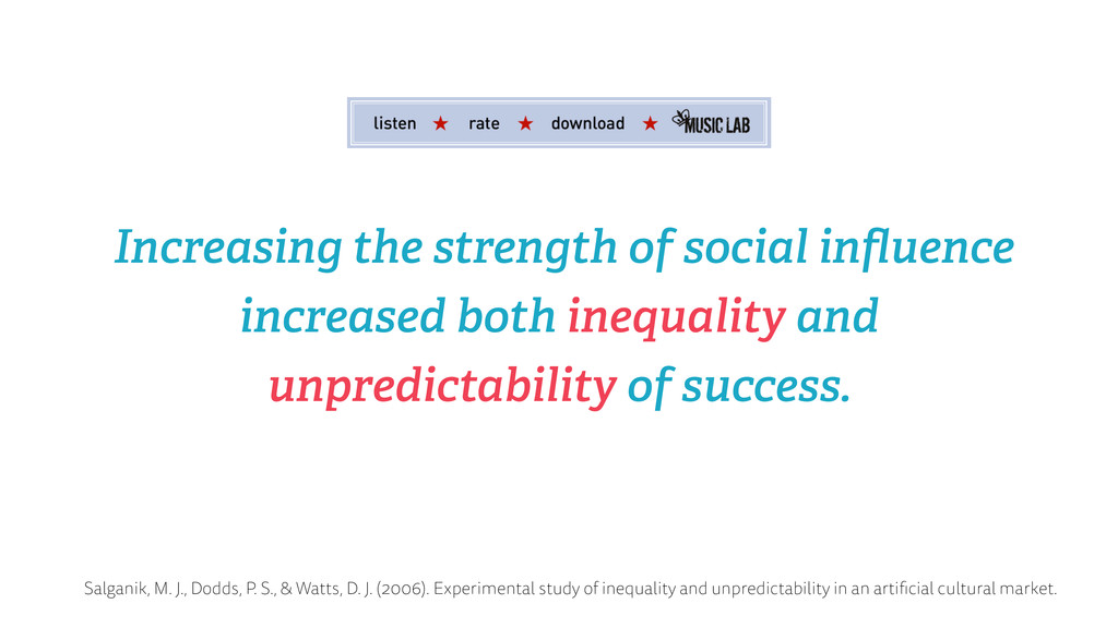 Increasing the strength of social influence incr...