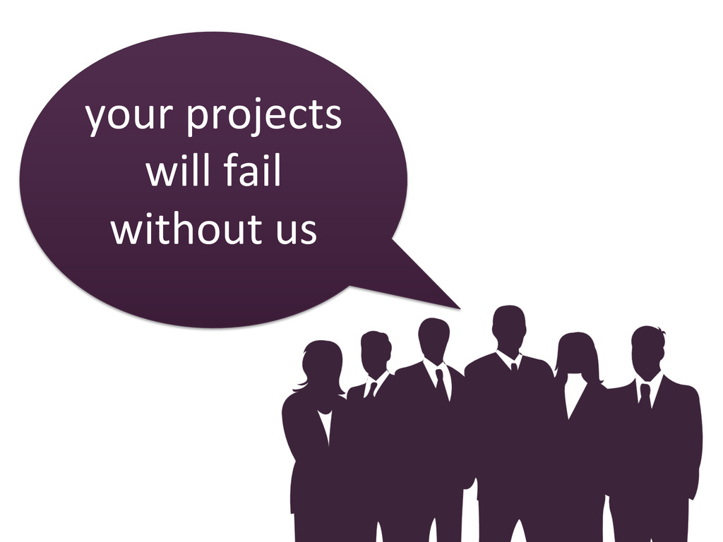 your projects  will fail  without...
