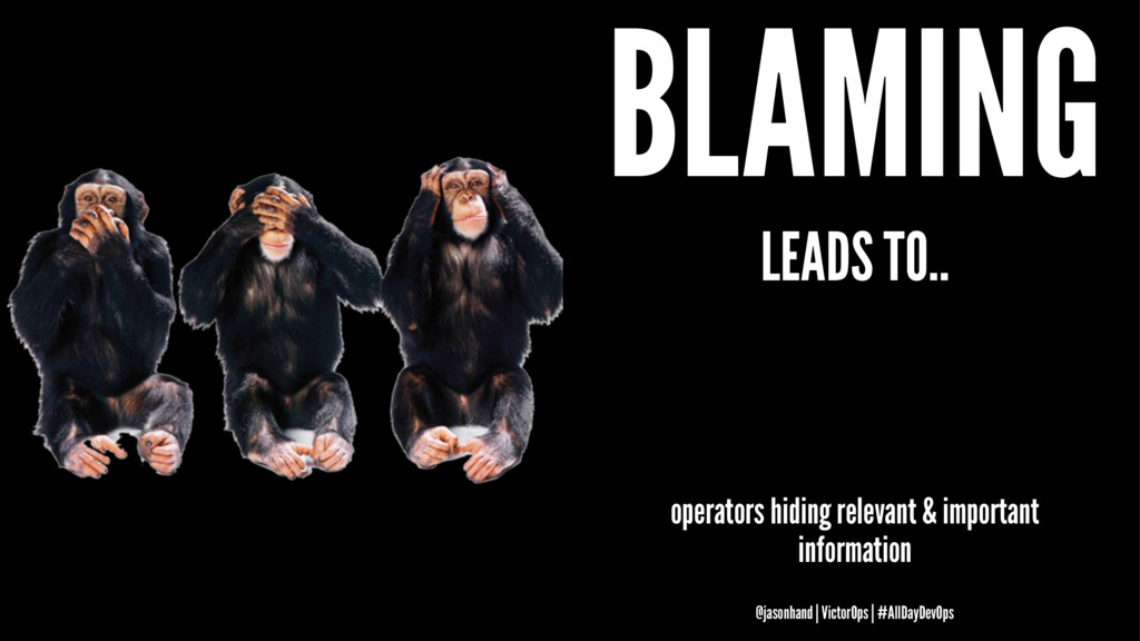 BLAMING LEADS TO.. operators hiding relevant & ...
