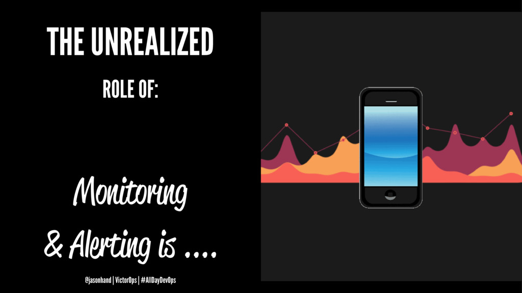 THE UNREALIZED ROLE OF: Monitoring & Alerting i...