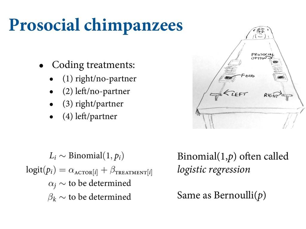 Prosocial chimpanzees • Coding treatments: • (1...