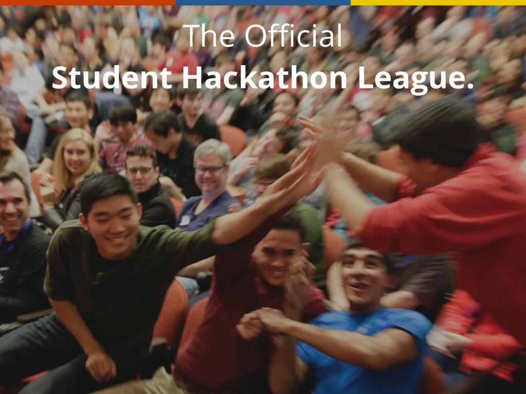 The Official Student Hackathon League.