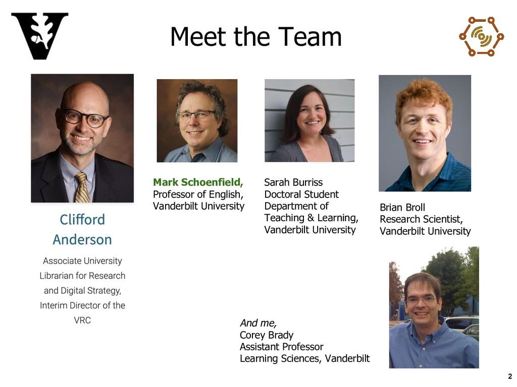 Meet the Team 2 Sarah Burriss Doctoral Student ...