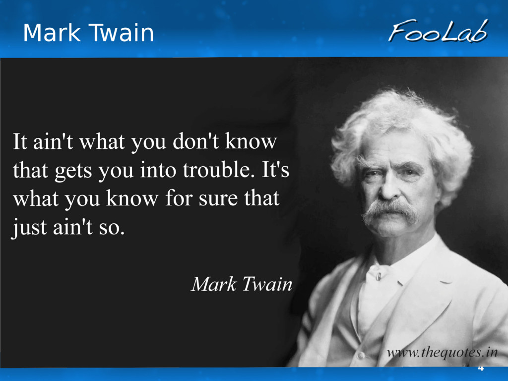 4 Mark Twain