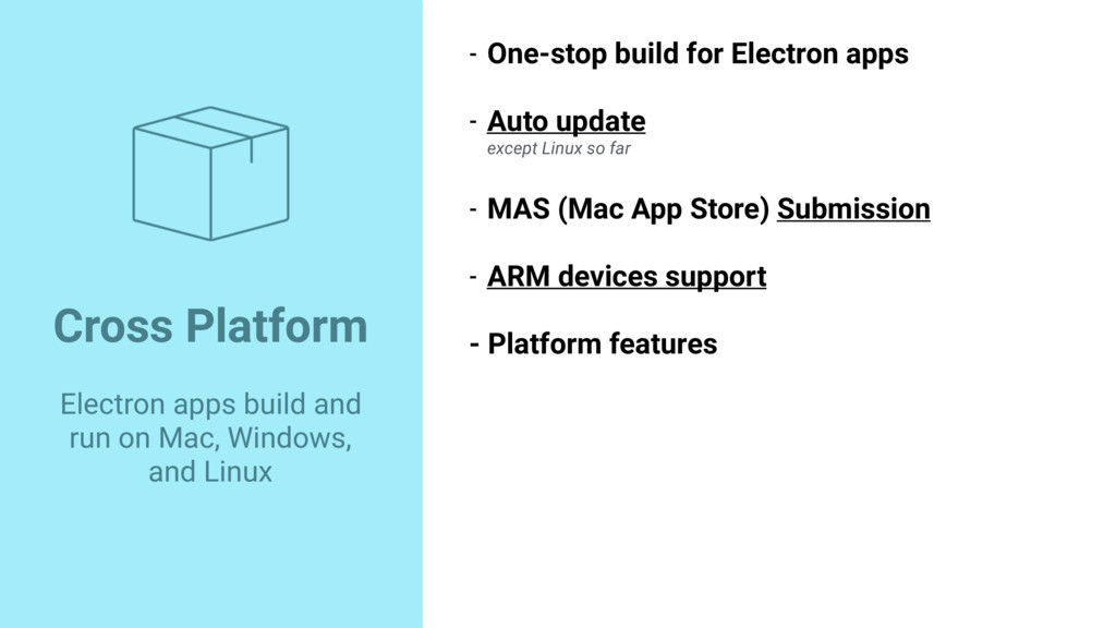 Cross Platform Electron apps build and run on M...