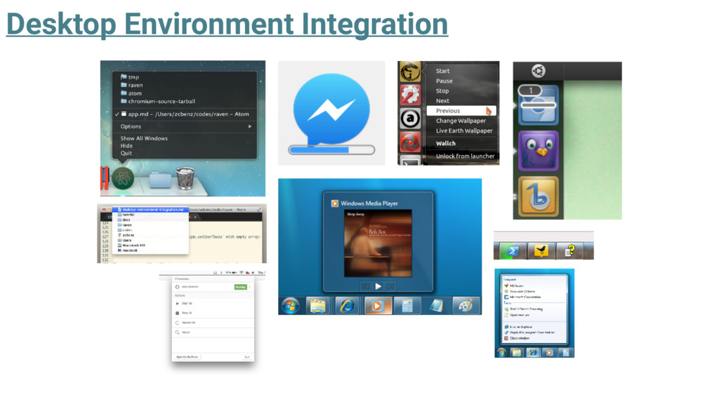 Desktop Environment Integration