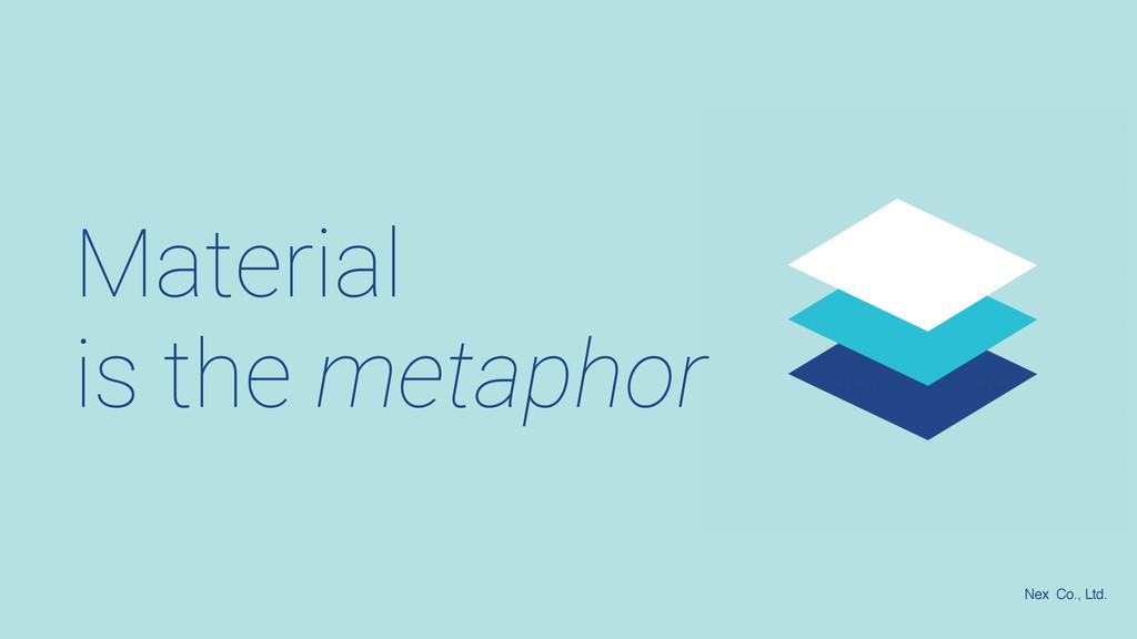 Material is the metaphor Nex Co., Ltd.