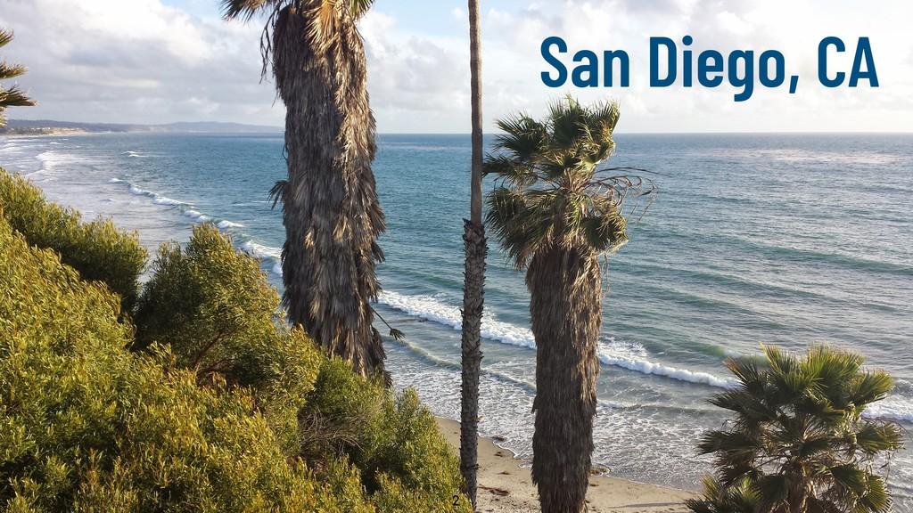 @WillingCarol 2 San Diego, CA