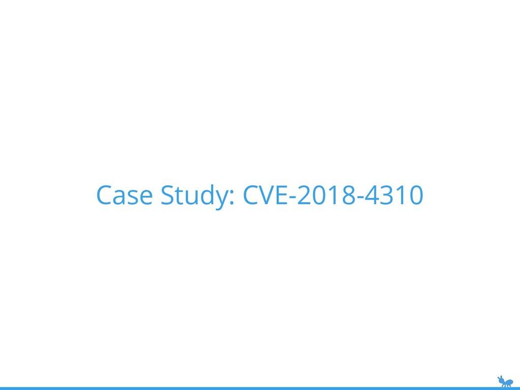 Case Study: CVE-2018-4310