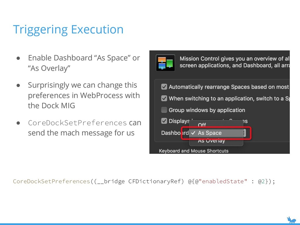 """Triggering Execution ● Enable Dashboard """"As Spa..."""