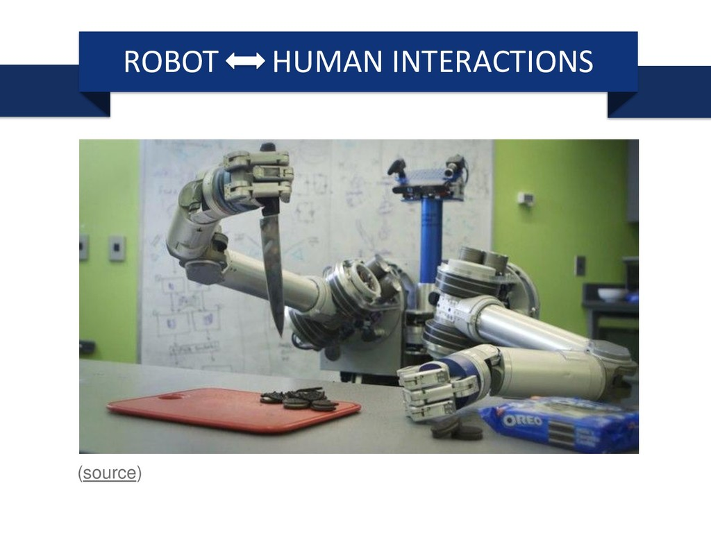 ROBOT HUMAN INTERACTIONS (source)