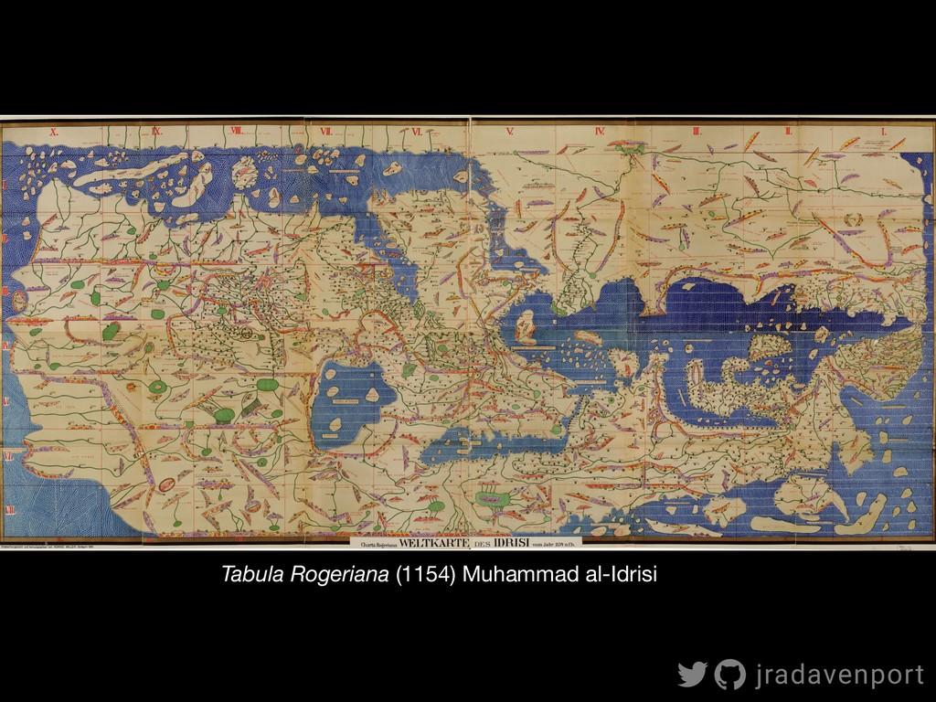Tabula Rogeriana (1154) Muhammad al-Idrisi jrad...