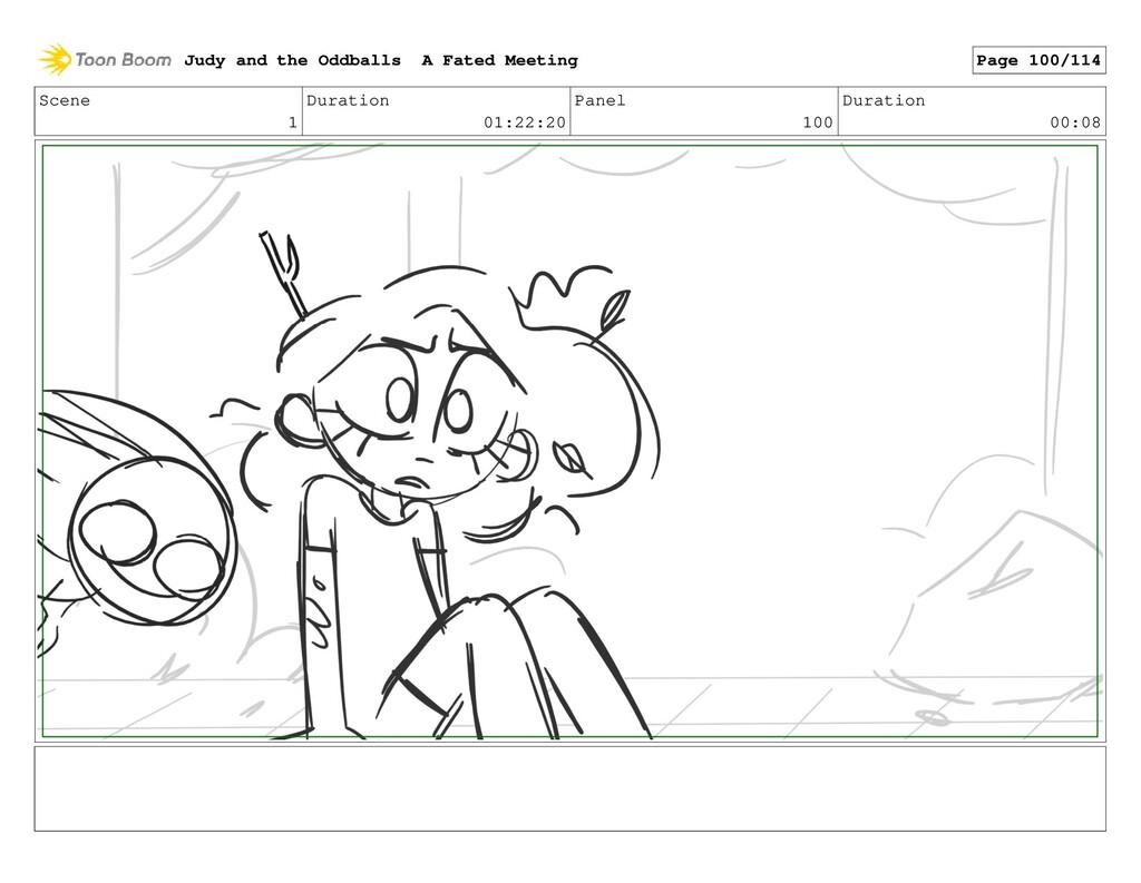 Scene 1 Duration 01:22:20 Panel 100 Duration 00...