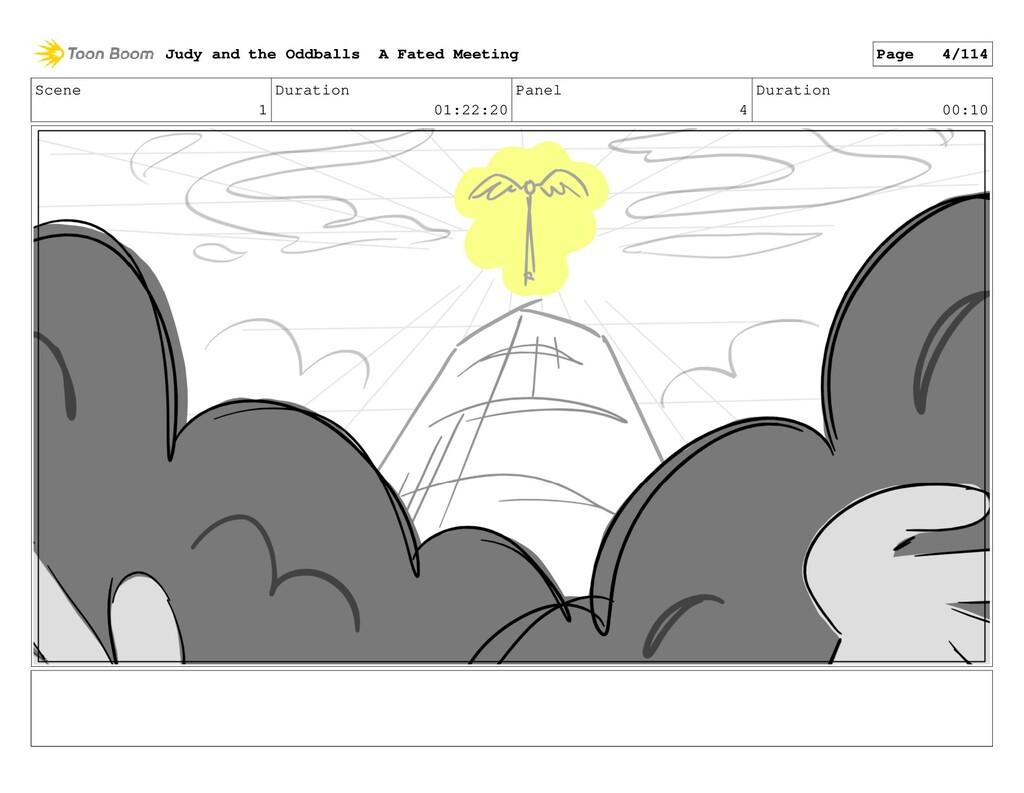 Scene 1 Duration 01:22:20 Panel 4 Duration 00:1...