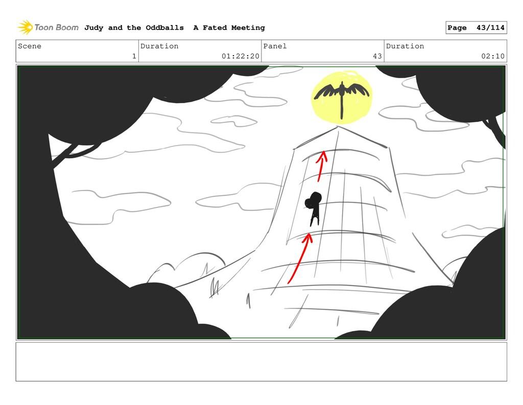 Scene 1 Duration 01:22:20 Panel 43 Duration 02:...