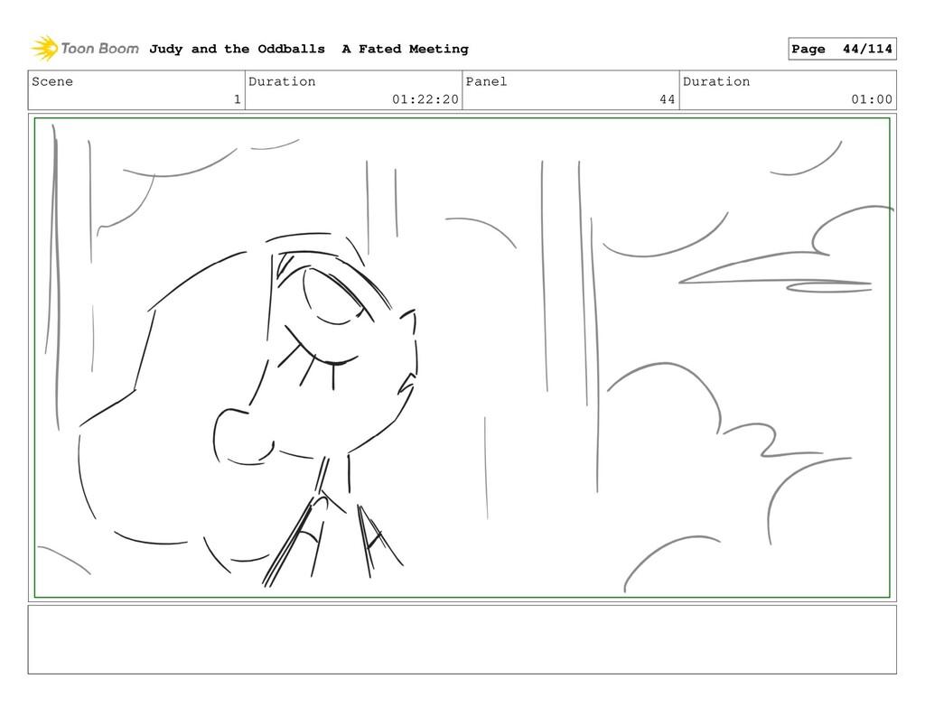 Scene 1 Duration 01:22:20 Panel 44 Duration 01:...